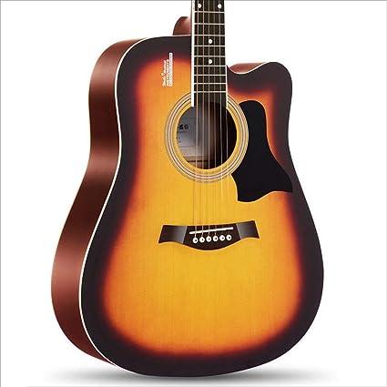 Aigliady 41 pulgadas Instrumento Principiante Guitarra Minimalista ...