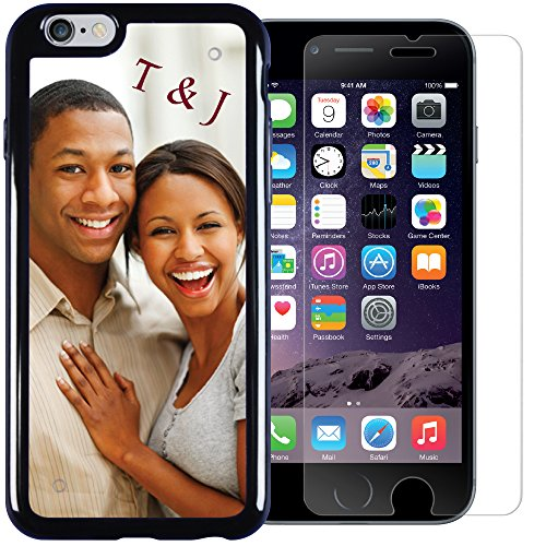 iPhone 6 / 6s PixCase & PixShield Combo - Case & Screen Protector – Personalization and Total Protection – DIY Just Insert Photos or Design Your Own Inserts Online – ()