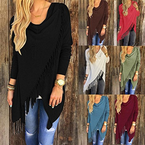 Femme Shirt Perfect Beikoard Tops Noir Longues Gland Tops Blouse Blouse Tops Tee Shirts Shirt T T T Casual T Shirt Chemisiers Chemisier Lâche The Manches Gilet fSXqwFF