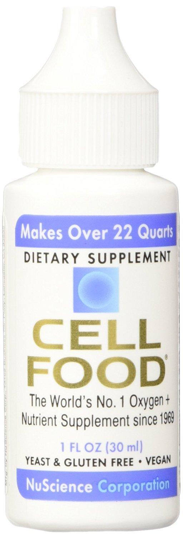 CellFood Liquid Minerals, Enzymes, Amino Acids, Electrolytes(1 fl.oz) (12 Bottles)