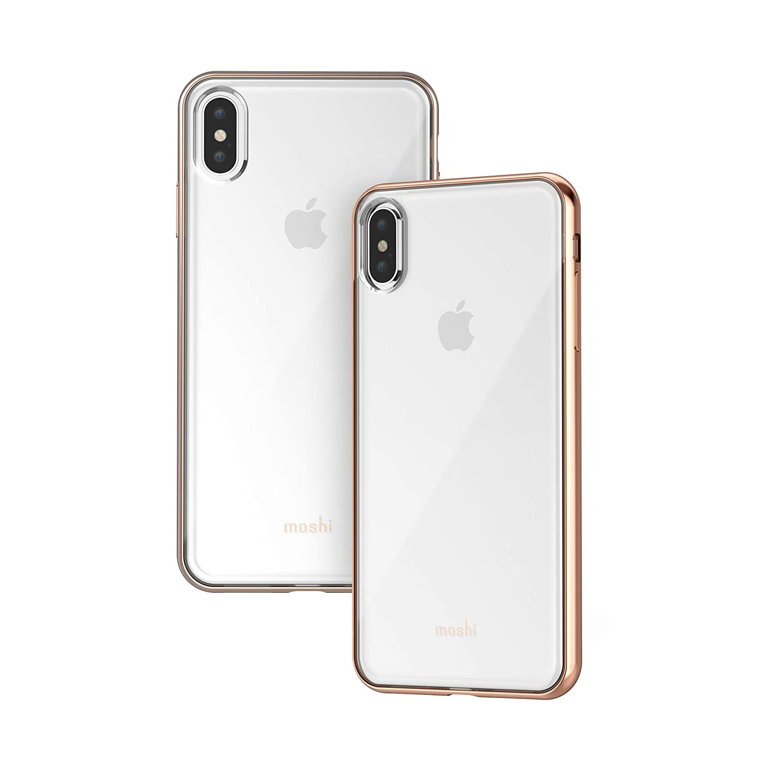 the best attitude a97e8 79a59 Moshi Vitros Clear Case for iPhone Xs Max - Gold