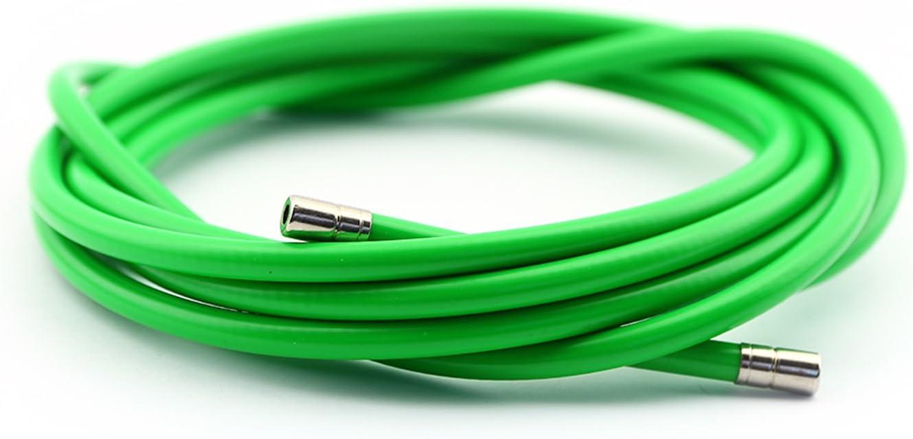 Funda Color Verde Cable Freno Acero Laminado Sirga de Ø5 y 2m para ...