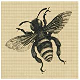 Art Needlepoint Bee Kit by Merian