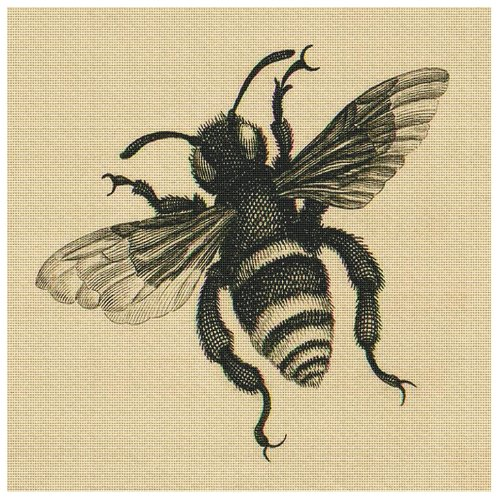 Art Needlepoint Bee Kit by Merian