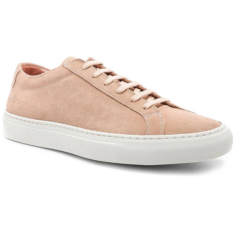 (コモン プロジェクト) Common Projects メンズ シューズ靴 スニーカー Suede Original Achilles Low Suede [並行輸入品] B07F74XX15