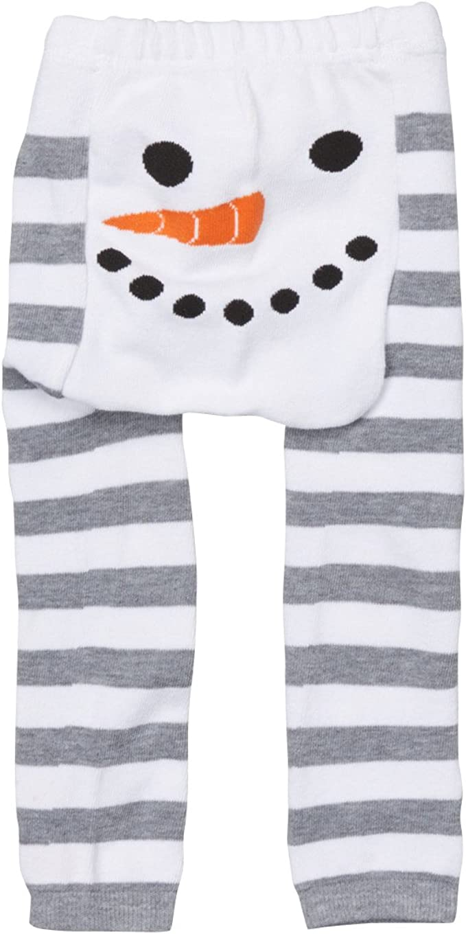 Girls /& Baby Legging Doodle Pants Winter Snowman Stripes 3M-24M Toddler Boys