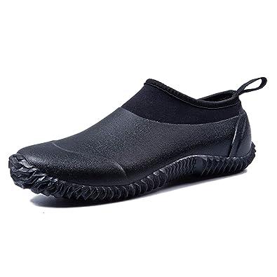 7f354ac3b29ec4 JACKSHIBO Rain Boots Shoes