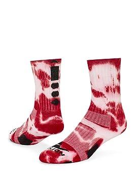 Red Lion Max - Calcetines deportivos, diseño con teñido anudado - 804630UT, Medium, Rojo, blanco: Amazon.es: Deportes y aire libre