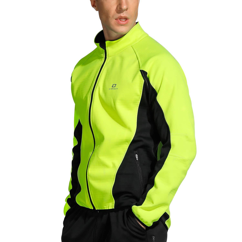 LAMEDA Herren abnehmbare Fleece Multifunktionale Winddichte Warm Jacke geeignet für Radsport, Training, Wandern