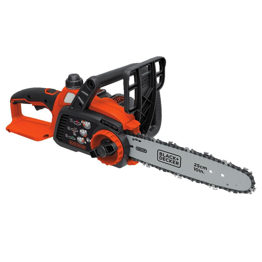 BLACK+DECKER LCS1020 20V MAX Lithium Ion Chainsaw, 10''