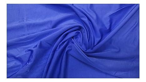 Fabrics-City Royal Blu In Materiale Elasticizzato In Lycra Tessuto ...