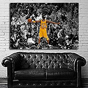 #35 Poster Mural Kobe Bryant Basketball 40x60 inch (100x150 cm) on Adhesive Vinyl