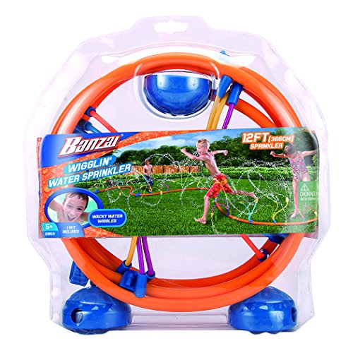 Banzai Wiggling Water Sprinkler (Discontinued by manufacturer)