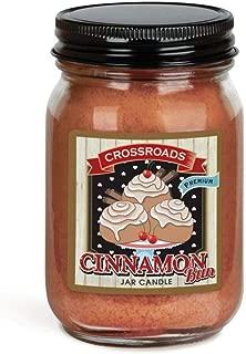 product image for Crossroads Cinnamon Bun Jar Candle