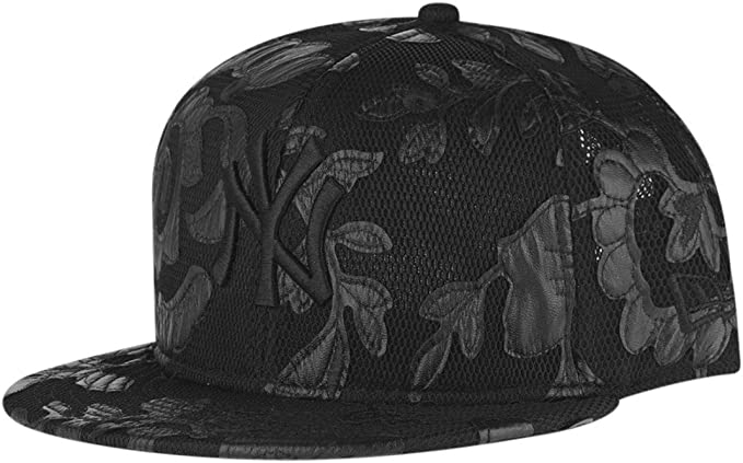 Gorra New Era – 9Fifty Mlb Floral Mesh New York Yankees negro ...