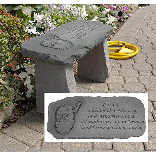 (Design Toscano Bring You Home Memorial Garden Bench)