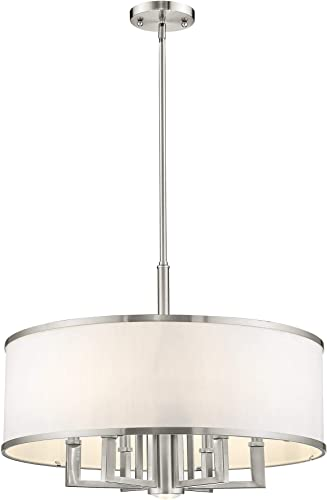 Livex Lighting 62616-91 Park Ridge 6 Light Chandelier