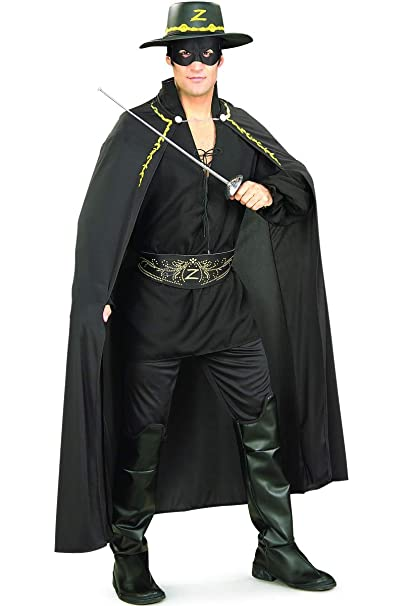 Rubies Costume Co Mens Zorro Adult Deluxe Cape