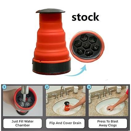 Amazon.com: Clog Cannon TPR High Pressure Manual Air Power Drain ...