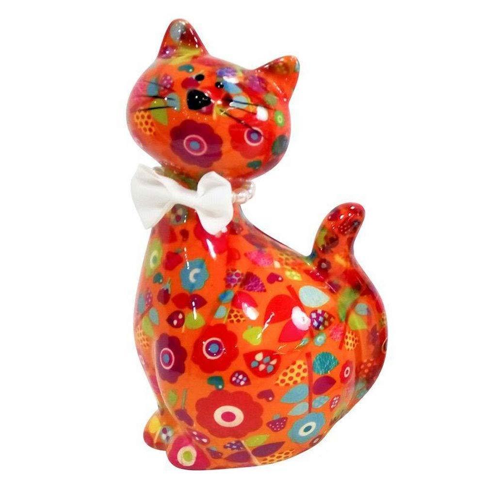 Pomme-Pidou Caramel Kitty Bank - Orange