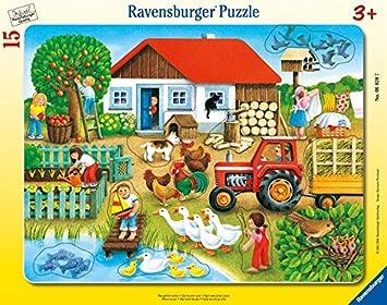 Ravensburger - Puzzle Infantil (15 Piezas): Amazon.es: Juguetes y juegos