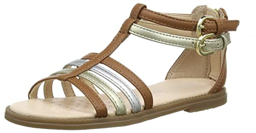 341d3c80 Geox J Sandal Karly Girl D Open Toe Sandals: Amazon.co.uk: Shoes & Bags
