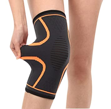 a50117de73 1 Pair Anti-Slip Knee Compression Sleeves Knee Support, Elastic Knee Brace  for Joint