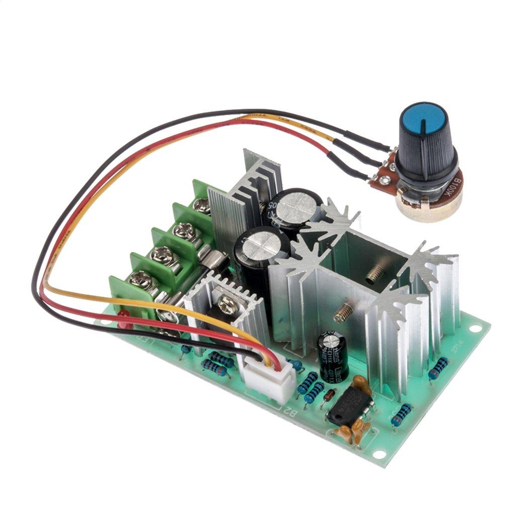 12v 24v 36v 48v 20a Dc Motor Speed Controller Pwm Hho Rc Circuit Switch