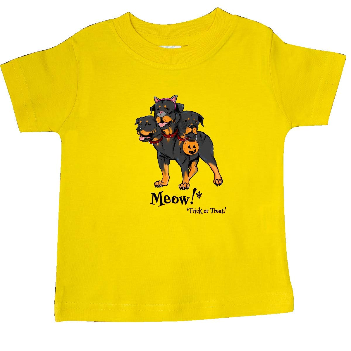 inktastic Cerberus in Cat Costume Trick or Treat Meow Baby T-Shirt