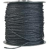 "Black Polypropylene Rope - 3/16"" x 1,000' Spool"