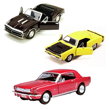 Amazon Com Best Of 1960s Muscle Cars Diecast Set 56 Set Of