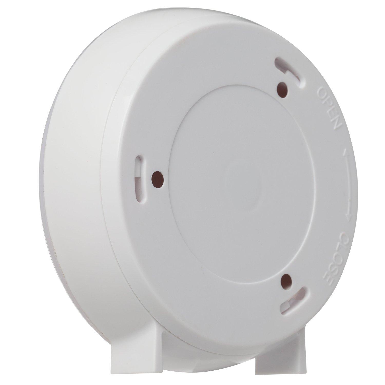longxi Sensor de movimiento luz funciona con pilas LED noche Ligh (color blanco - Pack de 2): Amazon.es: Iluminación