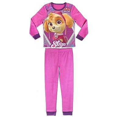 e2af2226b6 PAW PATROL SKYE pijama polar manga larga 2 piezas Rosa para niña   Amazon.es  Ropa y accesorios