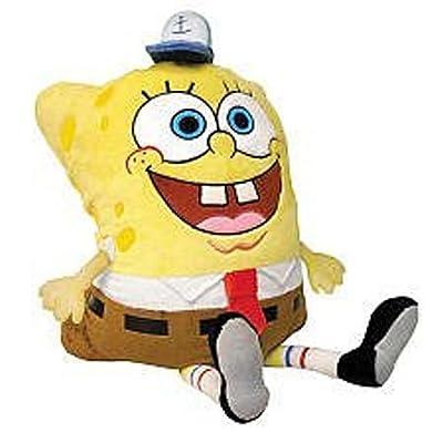 Pillow Pets, Pee Wees, Nickelodeon Spongebob Squarepants, Spongebob, 11 Inches: Toys & Games [5Bkhe1102261]
