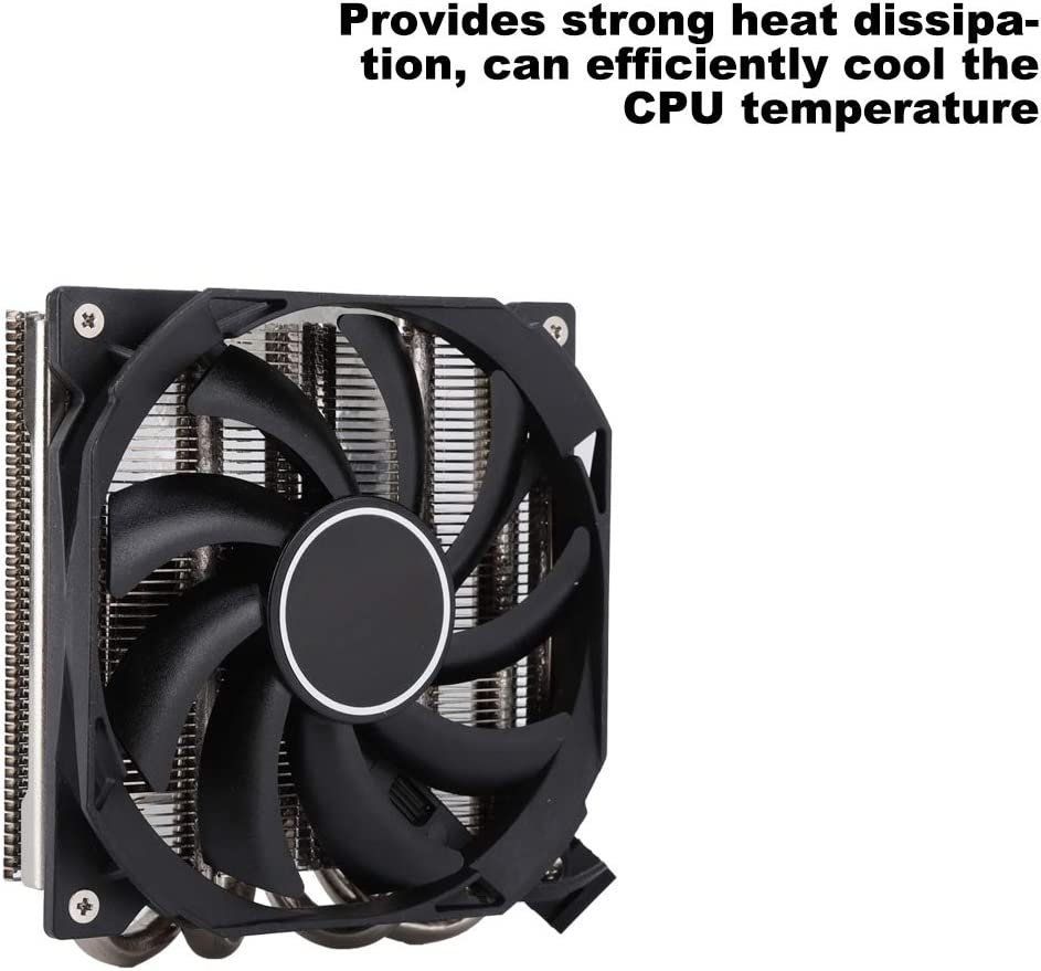 Yoidesu CPU Cooler for AMD AM4,IS-30 CPU Air Cooler Supports AM4 Multi-Platform CPU Cooler,DC 12V,4 PIN Power Supply,800-3600 RPM