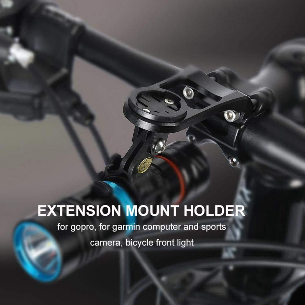 Alloy Mount Computer Bicycle Garmin Holder Edge Handlebar Extension Bracket