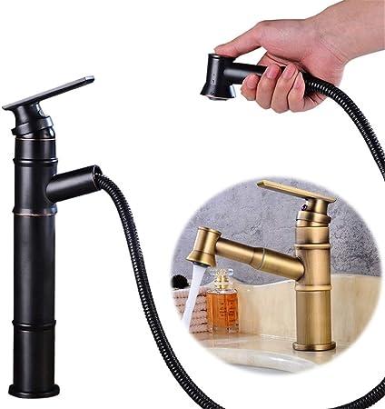 Grifo de filtro de agua potable Estilo Retro Cobre antiguo ...