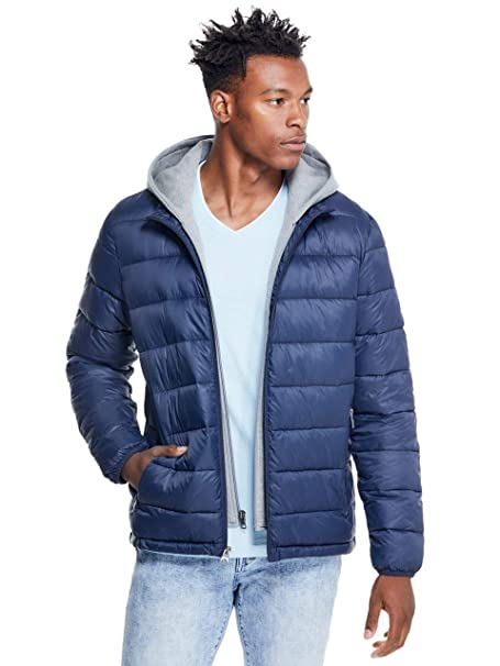 Amazon.com: GUESS Factory Preston - Chaqueta para hombre con ...
