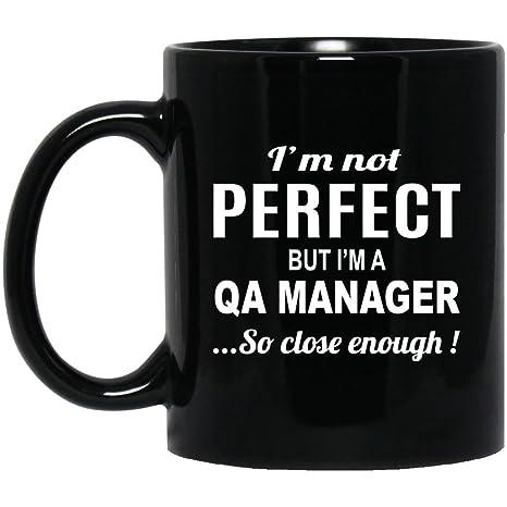 Amazon.com: Mejor regalo de Sarcástico para QA Manager – no ...