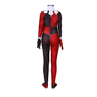 Amazon.com: Disfraz clásico de Harley Quinn Clown Joker sexy ...