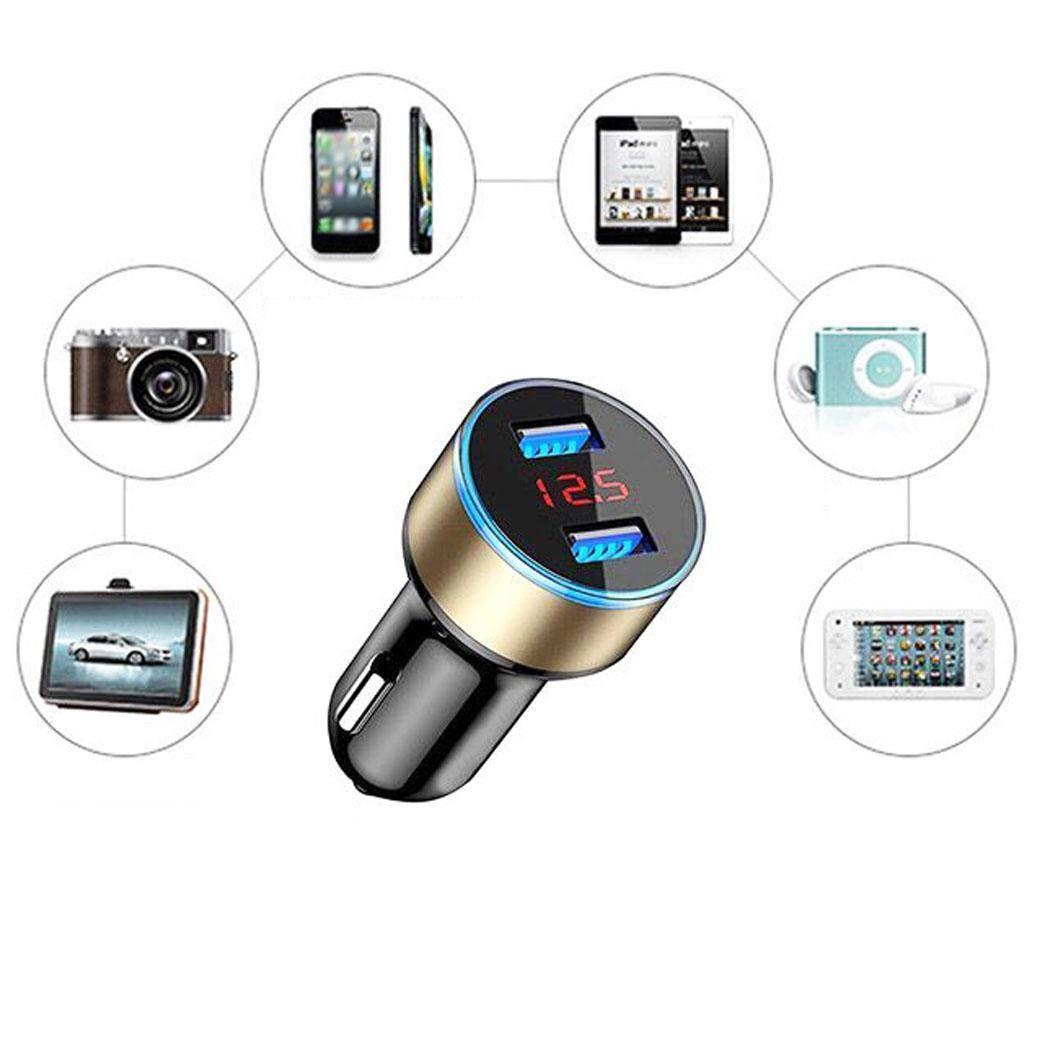 Skipo Chargeur Allume-Cigare USB Allume-Cigare Chargeur de t/él/éphone Portable Accessoires Auto