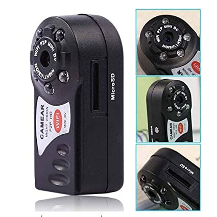 Mini cámara Mini inalámbrico portátil Vigilancia HD portátil cámara vigilancia IP cámara de seguridad P2P pequeñas