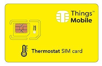 Tarjeta SIM para TERMOSTATO PROGRAMABLE - Things Mobile ...