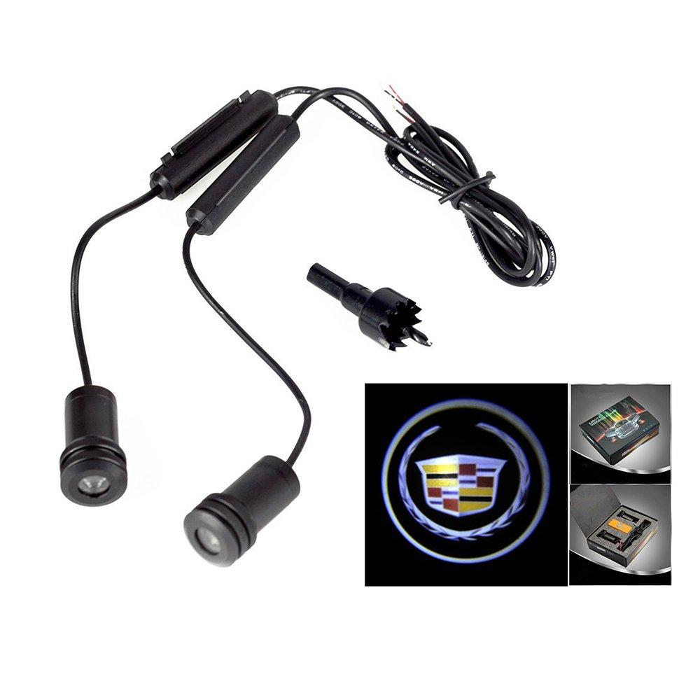 Lupar 5w 4th Generation 2x LED Car Door Laser Projector Ghost Shadow Step Light Logo (Fits:IMPALA) LPDP-395-IMPALA