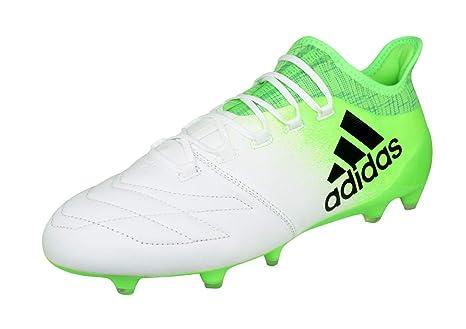 official photos 3586b 1a720 adidas X 16.1 Leather FG Fußballschuh Herren, Weiß (FtwblaNegbasVersol)
