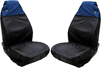 Onwards Titan Waterproof Car Front Seat Covers to fit Volvo XC90 2015 Black