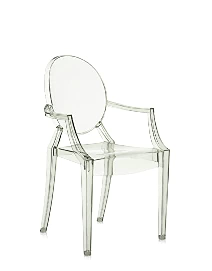 Kartell Louis Ghost Chair   Transparent Crystal Green