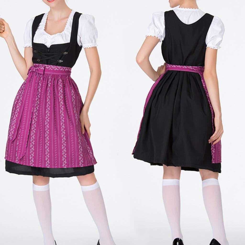 Amazon.com: Dsood - Disfraz de tirolesa alemana para mujer ...