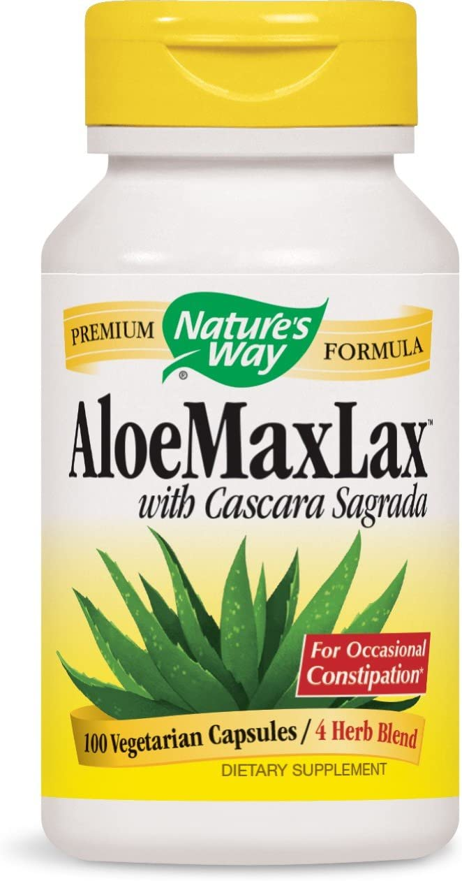 Nature s Way – Aloe Max Lax 100 VCap 6 Pack
