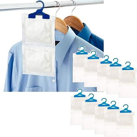 che aiutano a prevenire l/'umidit/à da appendere Livivo/® Sacchetti deumidificatori per interni la muffa e la condensa; il deumidificatore assorbe acqua fino a 3/volte il proprio peso Pack of 12